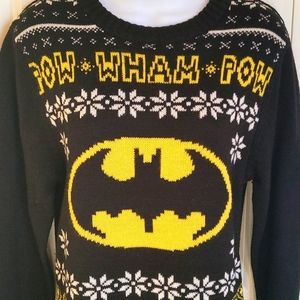 Batman Christmas Holiday Sweater - Size S